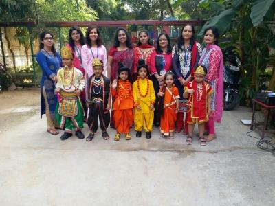 Dussehra and Gandhi Jayanti celebration ( Nursery wing)