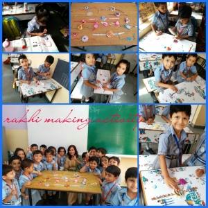 Raksha bandhan Celebration ( Nursery Wing)