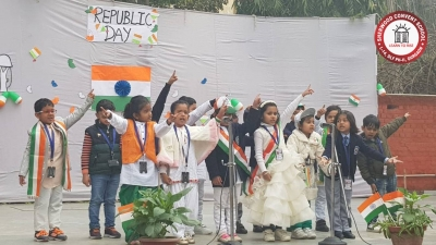 Sherwood Convent School celebrated their Republic Day