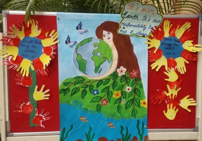 Earth Day Celebration2018 ( Nursery wing)