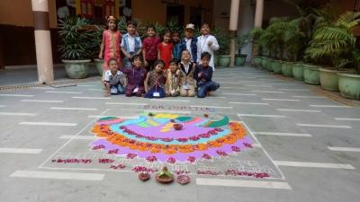 Diwali celebration (Nursery wing)